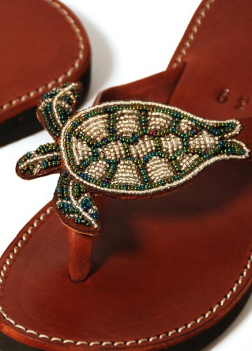 Schildkröten-Sandale