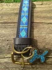 Türkis-Blaues Halsband von Shalima