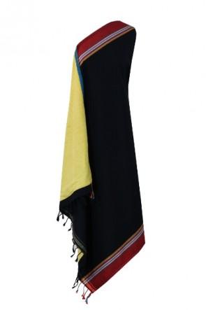 Handtuch-Kikoy Schwarz-Rot-Gold