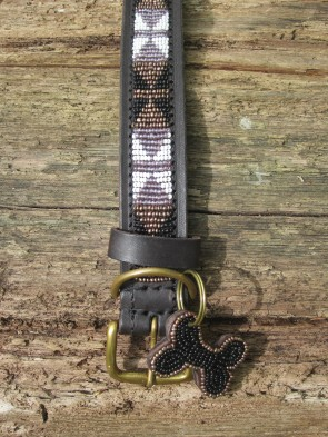 Edles Halsband aus Afrika, Handarbeit