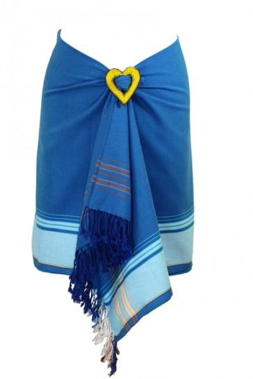 Königsblau-Bleu Classic Kikoy